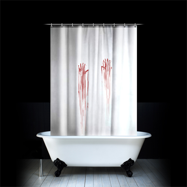 Un rideau de douche pas comme les autres un cadeau insolite - Rideau de douche insolite ...